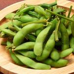 茹で上げ 枝豆