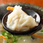 石焼鶏白湯炊餃子