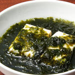 青のり豆腐