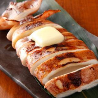 イカのバター醤油焼き(ふくまめ )