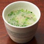 濃厚鶏白湯スープ