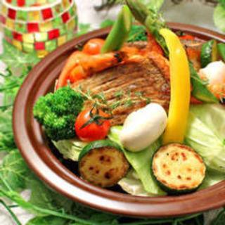 真鯛と彩り野菜のタジン鍋(Solare (-ソラーレ-))