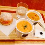 EAT-IN  SS-セット ブラウンシチューS トマトシチューS (セット)石窯パン(スープストックトーキョー 成田空港店 (Soup Stock Tokyo))