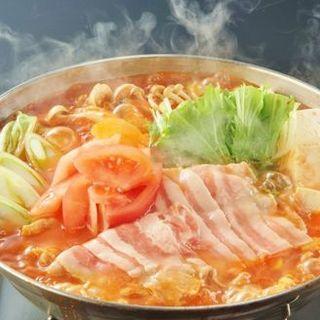 トマト豚骨鍋(Solare (-ソラーレ-))