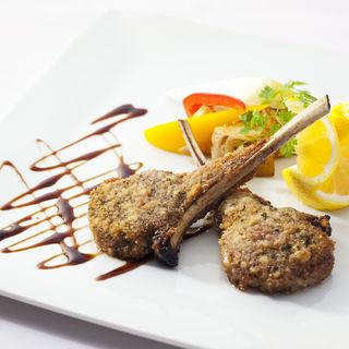 鴨胸肉のロースト(リストランテ ヴィオレッタ)