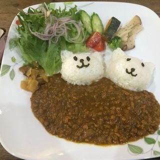 キーマカレー(cafe koume)