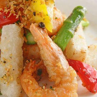 鮮魚と野菜のフリット(和チャイナ Roppongi (ロッポンギ))