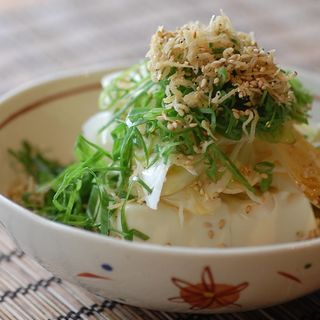 じゃこネギ豆腐(ばんぺい柚 )
