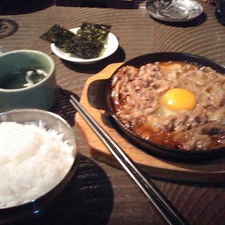プルコギ定食(熱風食堂Typhoon 秋葉原店 (ネップウショクドウ・タイフーン))