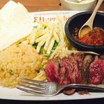 牛サガリの炙りランチ(エルボラーチョ 日本橋店 (Elborracho))