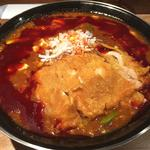 全とろ麻婆麺 3辛 排骨トッピング