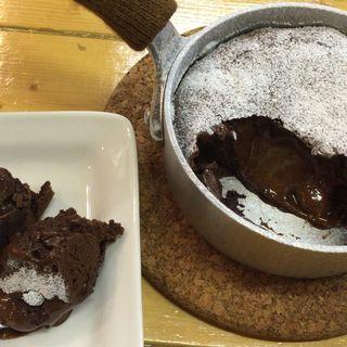 フォンダンショコラ(チュンカフェ (Chun Cafe))
