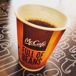 ホットコーヒー(マクドナルド 放出店 )