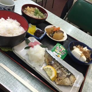 鯖塩焼き定食(常盤 )