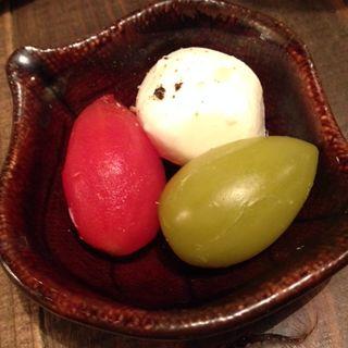 プチトマトマリネ(wine no Ruisuke zeRo  (ワインのるいすけzeRo【旧店名】丸鶏るいすけ))