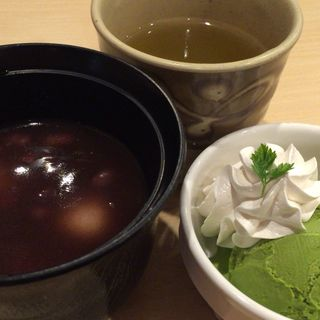 北海道小豆の白玉ぜんざい(ジョイフル 諫早店 )