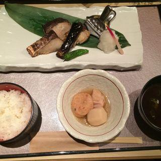 本日の焼き魚御膳(香家 銀座店 )