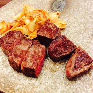 黒毛和牛もも肉(ランチ一品)(神戸ポートピアホテル )