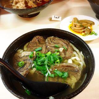 清燉牛肉麵 (牛肉ラーメン)(韓記老虎麵)