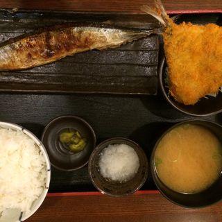 本日の日替り定食(魚人食堂 (ウオンチュショクドウ))