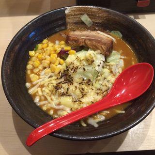 味噌カレーラーメン(麺乃國 味噌物語 難波千日前店 )