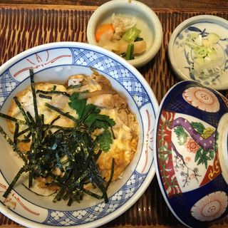 親子丼(そば処喜庵)