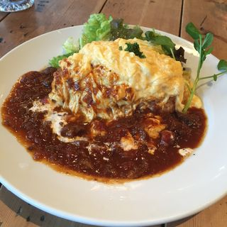 """""""OMU"""" RICE(グロリアス チェーン カフェ (glorious chain cafe))"""