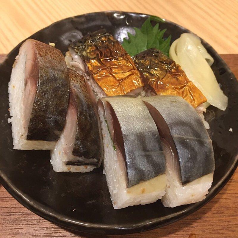 とろさば寿司定食