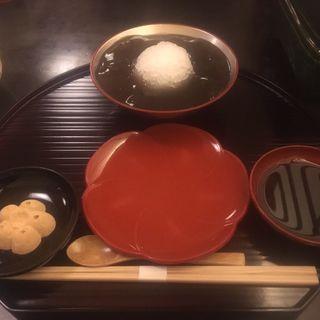 本わらびもち(ぎおん徳屋原宿店)