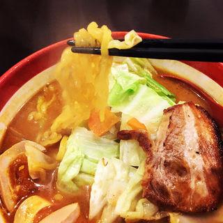 期間限定カレー味噌ラーメン(國丸 )