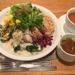 マンスリーチキンプレート (玄米ご飯)