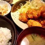 鶏の唐揚げ明太風味定食(やまや JR三ノ宮店 )