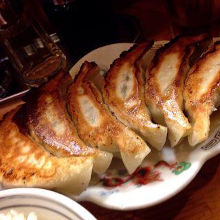 焼き餃子定食(東亭 (アヅマテイ))