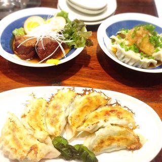 梅しそ餃子(熊猫餃子商店)