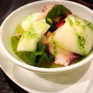 たこと野菜のピクルス(エル・ペスカドール )
