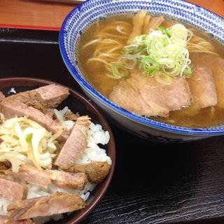 セット(肉煮干中華そば 鈴木ラーメン店 )