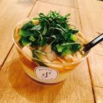 小松菜としらすのポテトクリーム