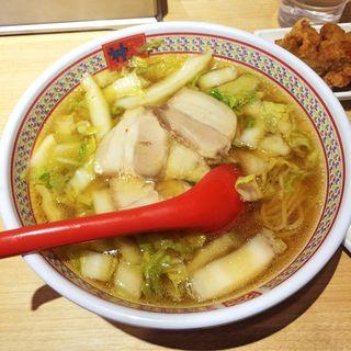 おいしいラーメン(どうとんぼり神座東京ドームシティ店 (ドウトンボリカムクラ))
