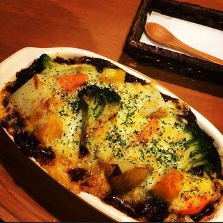 チーズと野菜たっぷり焼カレー(大和CAFE (ヤマトカフェ))