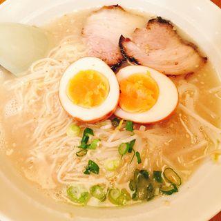 煮玉子ラーメン(九州らぁめん ごん吉 (ごんきち))