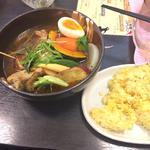 チキン野菜カレー(札幌ドミニカ 銀座店 (DOMINICA))