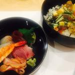 二段ちらし寿司
