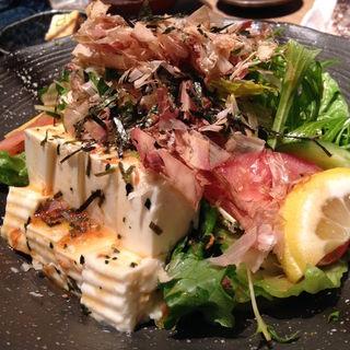 豆腐と水菜のヘルシーサラダ(米福 西梅田 )