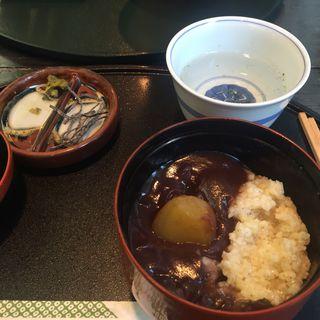 粟ぜんざい((有)鹿乃子 本店)