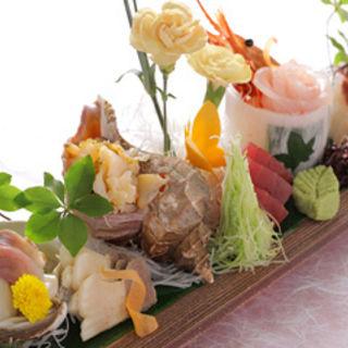 鮮魚の盛り合わせ(湯田 )