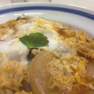 玉子丼(そば処紀文)