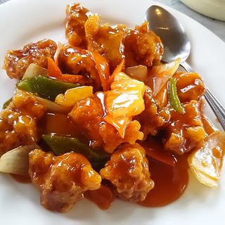 酢豚(台湾料理 永旺 (タイワンリョウリ エイオウ))