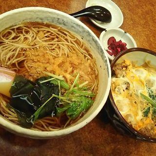 牛丼と蕎麦セット(弘昇庵 )