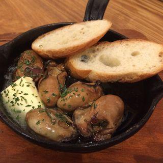 温製 牡蠣スモークのバターオイル