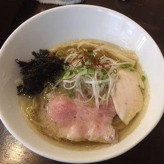 鶏清湯 塩らーめん(小島流 (コジマリュウ))